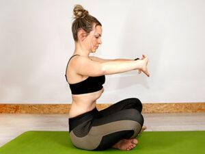Postura de hipopresivos